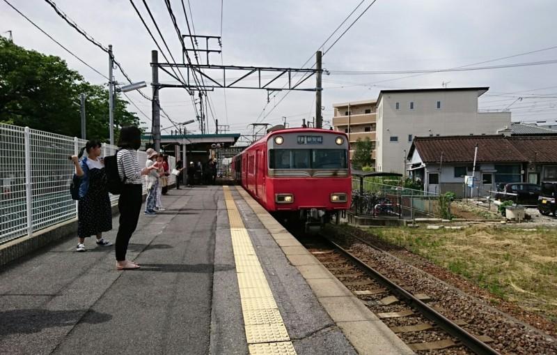 2018.5.25 日進中央線 (1) 古井 - しんあんじょういきふつう 1650-1050