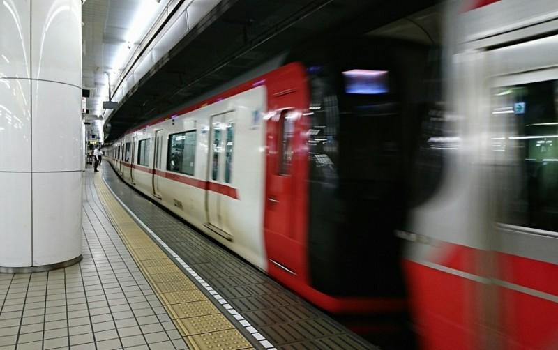 2018.5.25 日進中央線 (5) 名古屋 - 岐阜いき特急 860-540