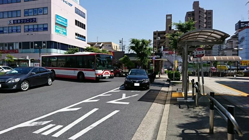 2018.5.25 日進中央線 (14) 赤池駅 - 長久手古戦場駅いきバス 1280-720