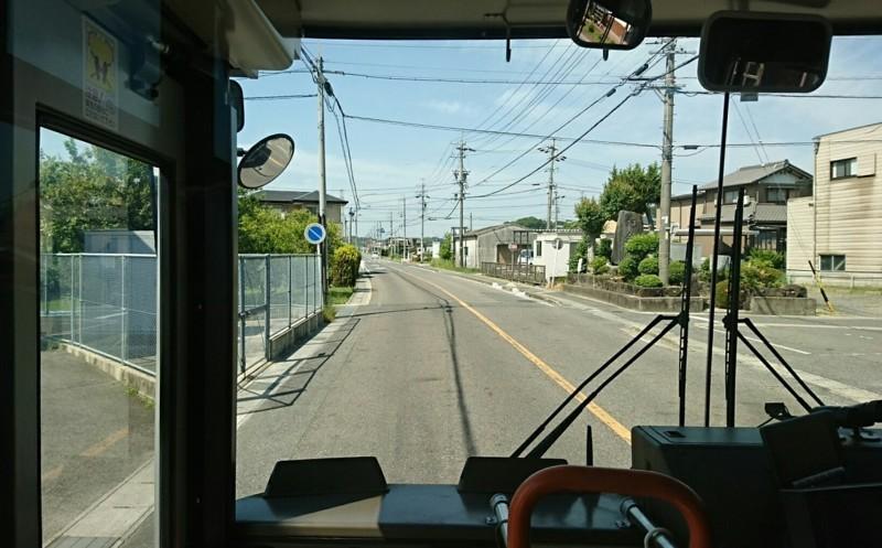 2018.5.25 日進中央線 (32) 日進保健センター東バス停(はんたい) 1160-720