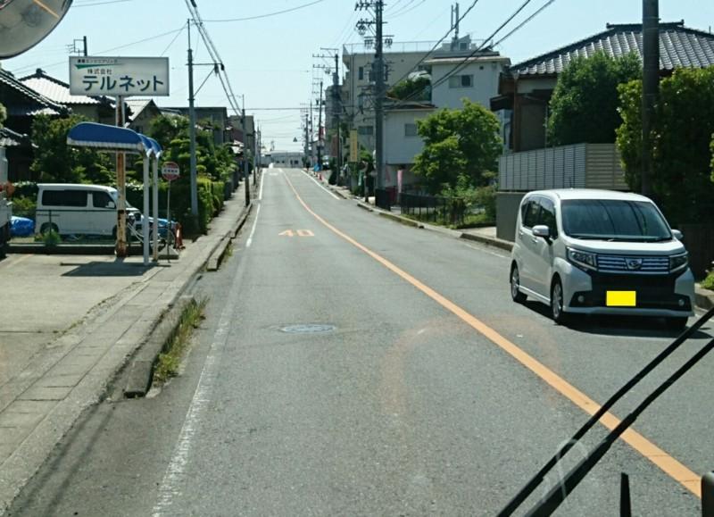 2018.5.25 日進中央線 (39) 岩崎神明バス停 1120-810