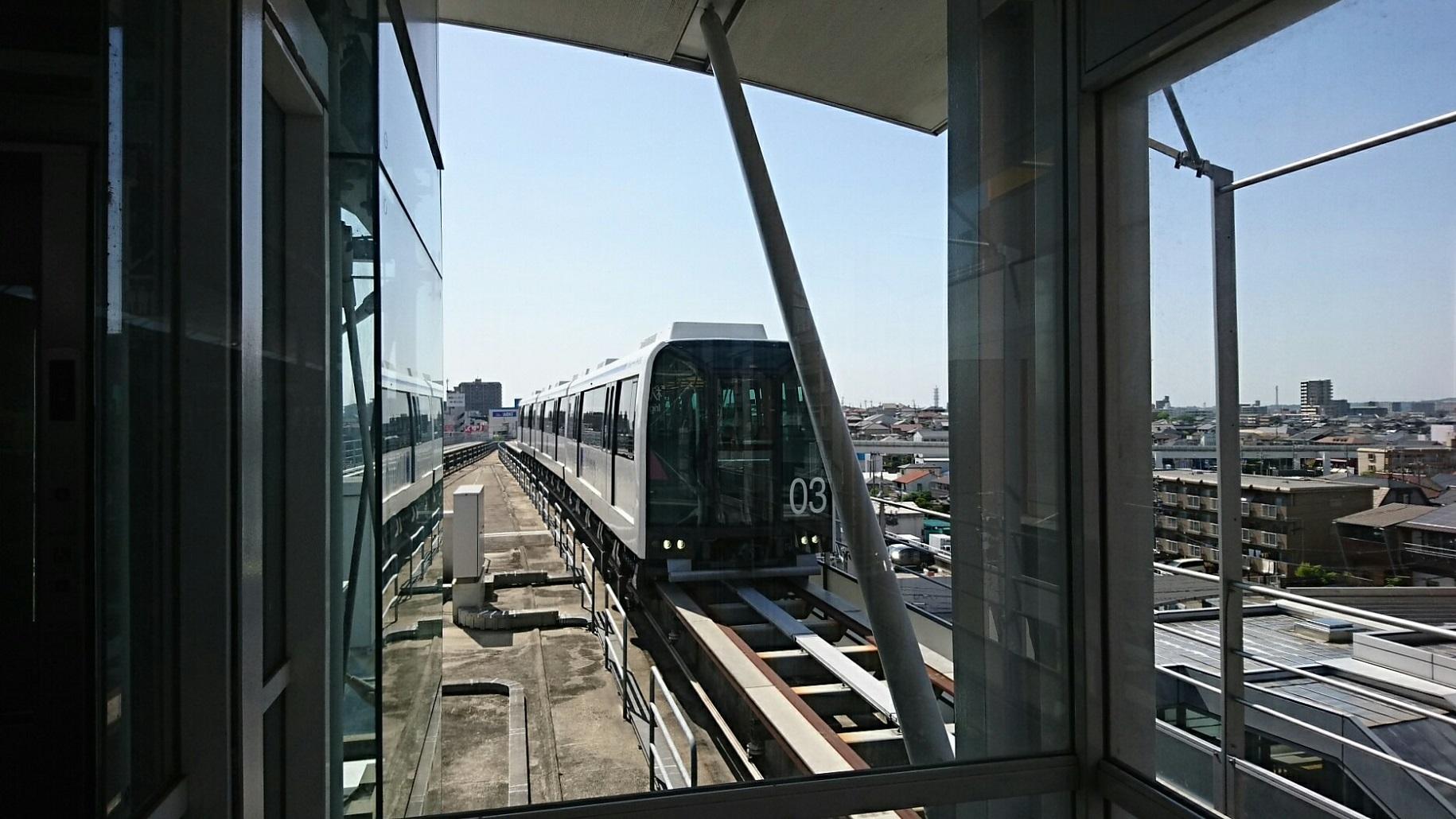 2018.5.25 日進中央線 (75) 杁ヶ池公園 - 八草いき 1830-1030