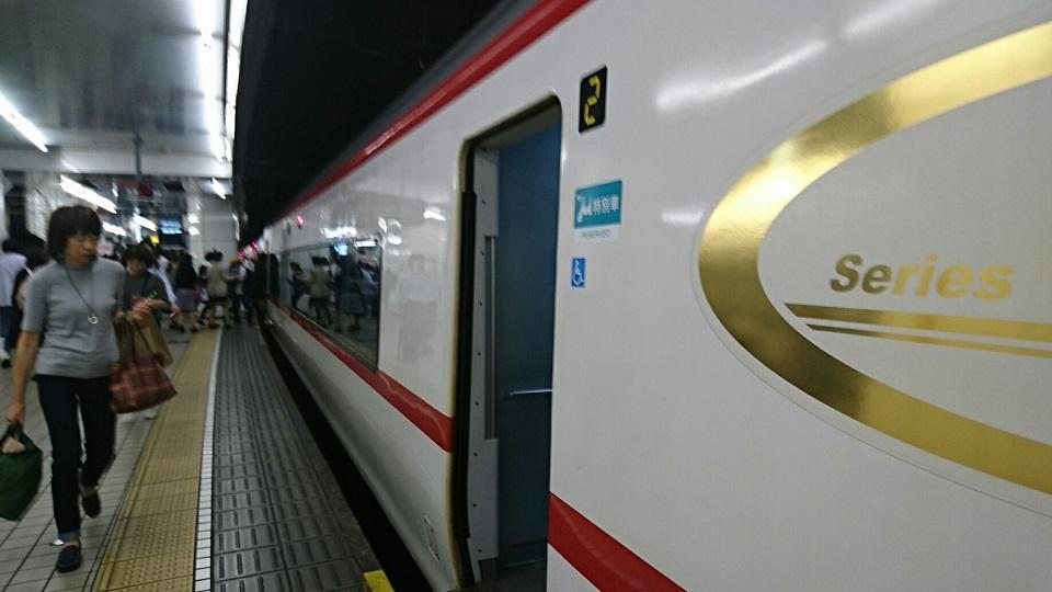 2018.5.25 日進中央線 (80) 名古屋 - 豊橋いき特急 960-540