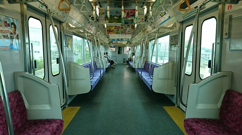2018.5.29 成田環回顧展 (11) 岩倉いきふつう - 東岡崎 1450-810