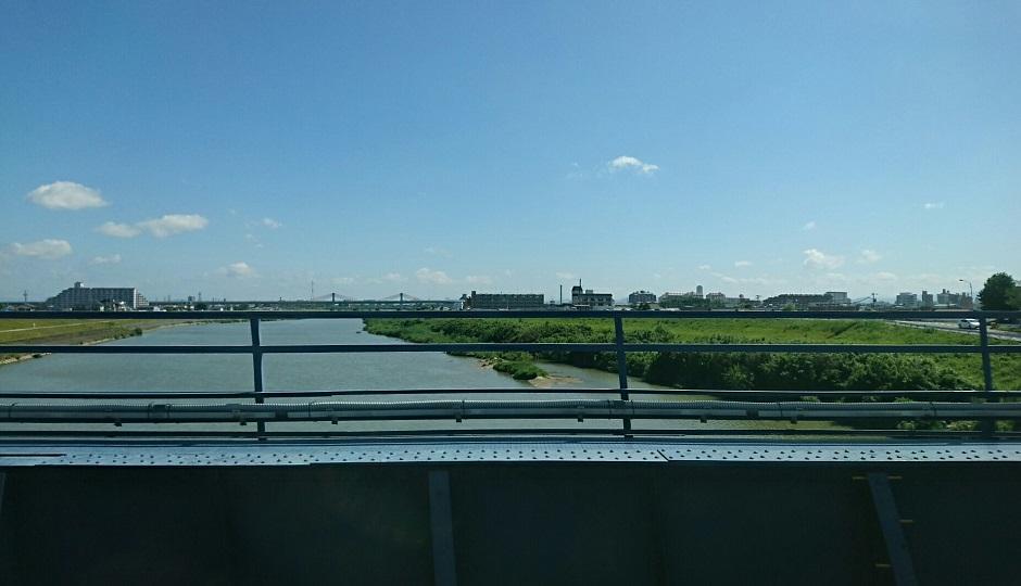 2018.6.1 岐阜 (5) 岐阜いき特急 - 庄内川をわたる 940-540