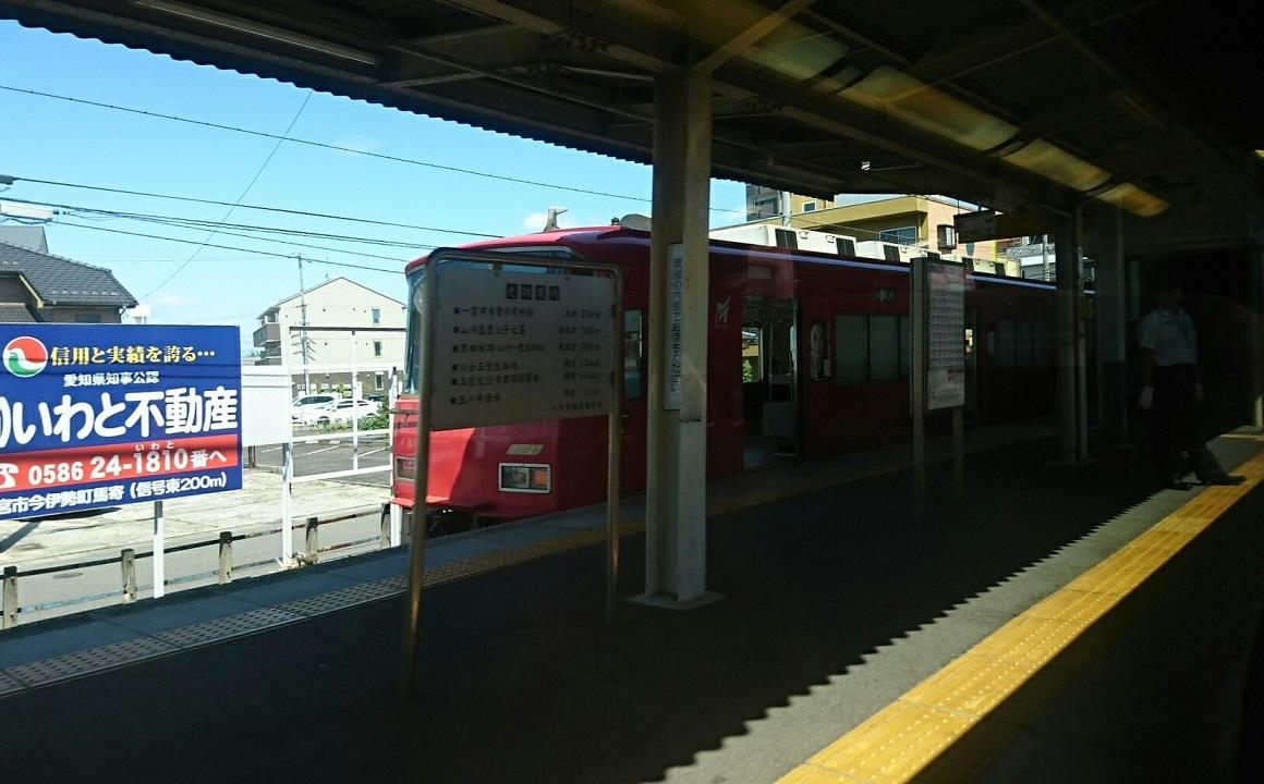 2018.6.1 岐阜 (10) 岐阜いき特急 - 新木曽川(岐阜いきふつう) 1160-720
