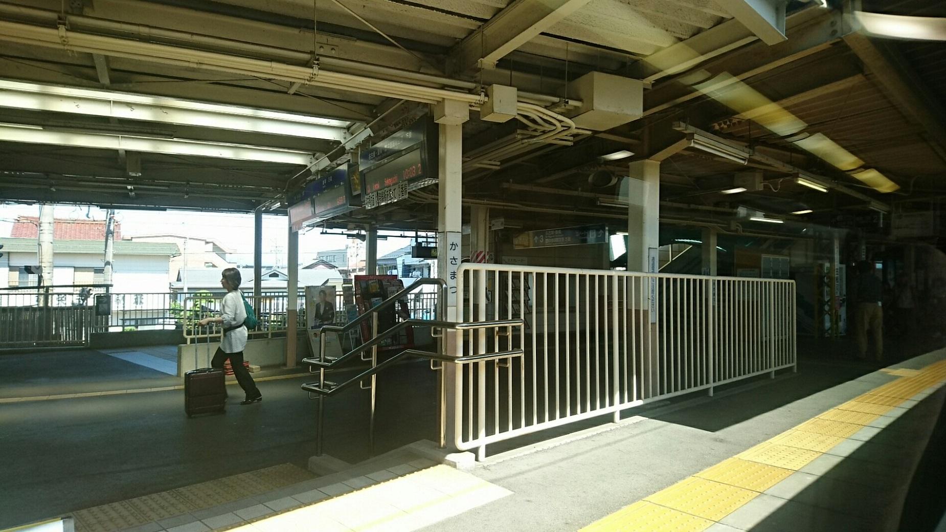 2018.6.1 岐阜 (12) 岐阜いき特急 - 笠松 1850-1040