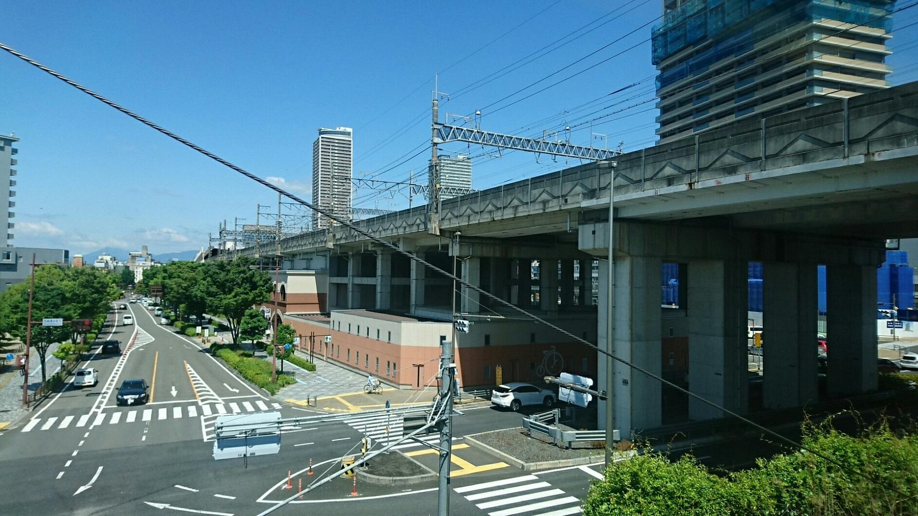 2018.6.1 岐阜 (14) 岐阜いき特急 - 東海道線のみなみ 1850-1040