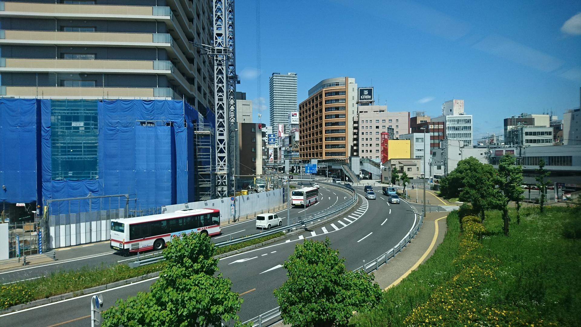 2018.6.1 岐阜 (16) 岐阜いき特急 - 岐阜 1920-1080