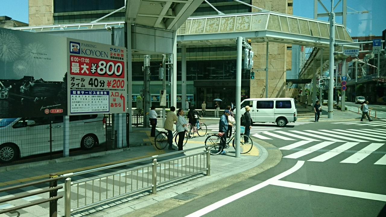 2018.6.1 岐阜 (28) 高富いきバス - 名鉄岐阜駅前交差点 1280-720