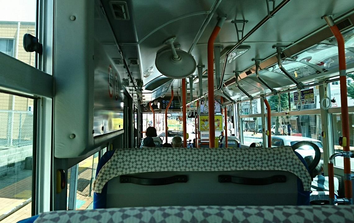 2018.6.1 岐阜 (32) 高富いきバス - メディアコスモス・鶯谷高校口バス停 1140-720
