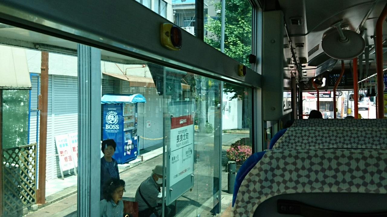 2018.6.1 岐阜 (39) 高富いきバス - 長良北町バス停 1280-720