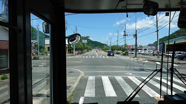 2018.6.1 岐阜 (43) 高富いきバス - 八代3丁目北交差点 1440-810