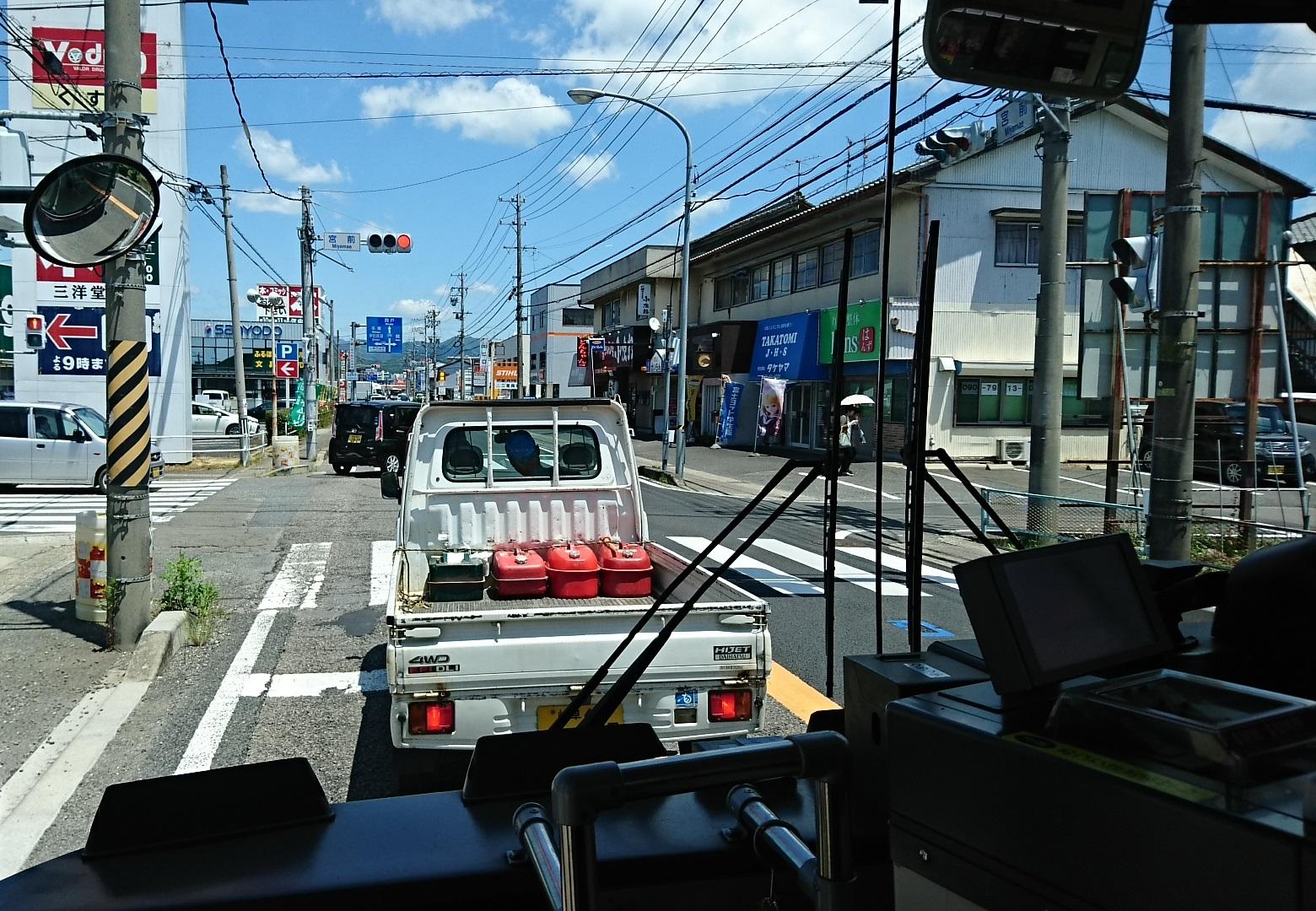 2018.6.1 岐阜 (56) 高富いきバス - 宮前交差点 1560-1080