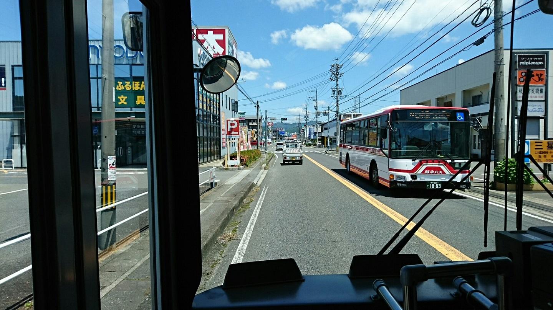 2018.6.1 岐阜 (57) 高富いきバス - 井戸尻交差点てまえ 1440-810
