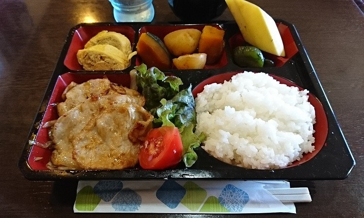 2018.6.1 岐阜 (69) すぅ~みん - しょうがやき定食 750-450