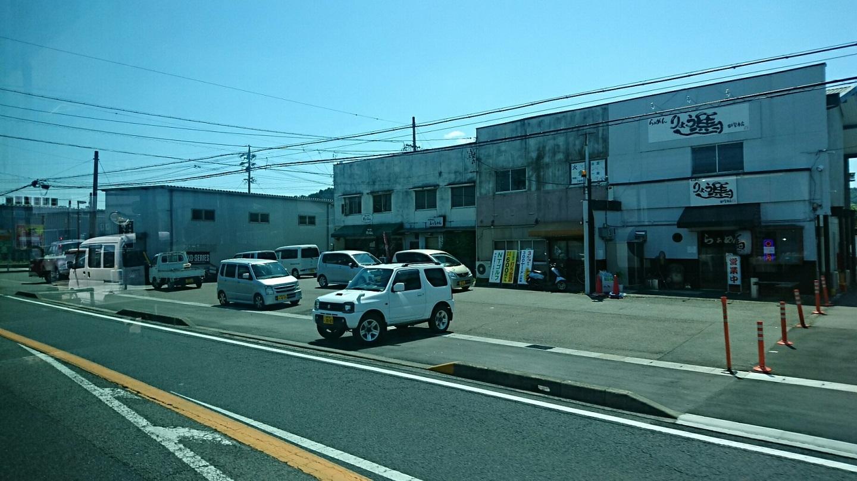 2018.6.1 岐阜 (70) 西鏡島いきバス - 山県警察署前バス停すぎ 1440-810