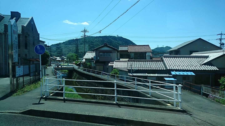 2018.6.1 岐阜 (72) 西鏡島いきバス - 三田洞バス停(はんたい)すぎ 1440-810