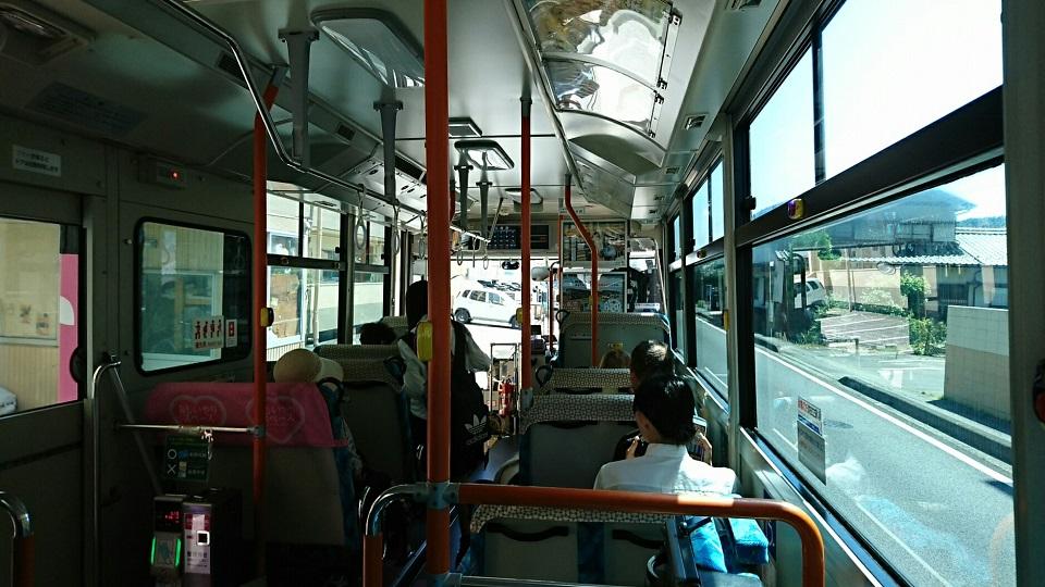 2018.6.1 岐阜 (73) 西鏡島いきバス - 三田洞バス停 960-540