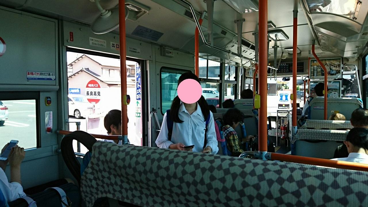2018.6.1 岐阜 (74) 西鏡島いきバス - 長良高見バス停 1280-720