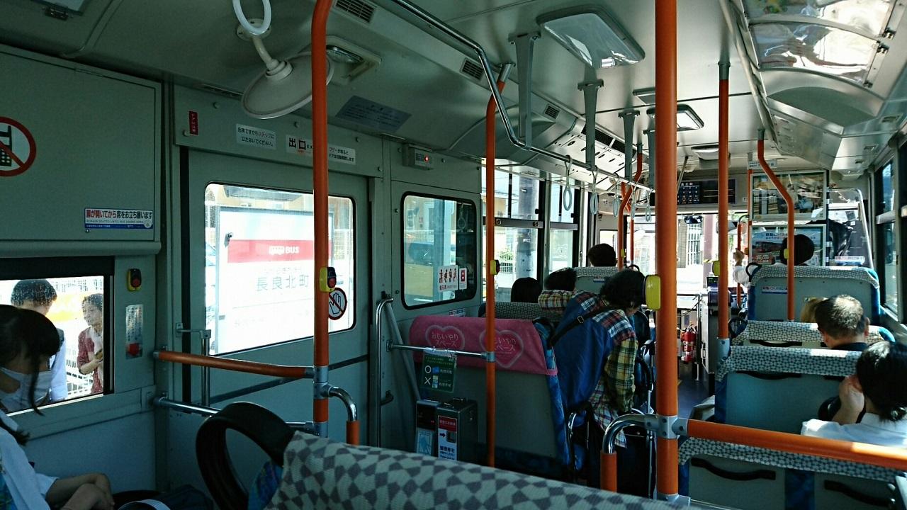 2018.6.1 岐阜 (75) 西鏡島いきバス - 長良北町バス停 1280-720