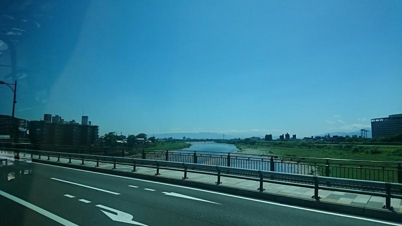 2018.6.1 岐阜 (78) 西鏡島いきバス - 長良橋をわたる 800-450