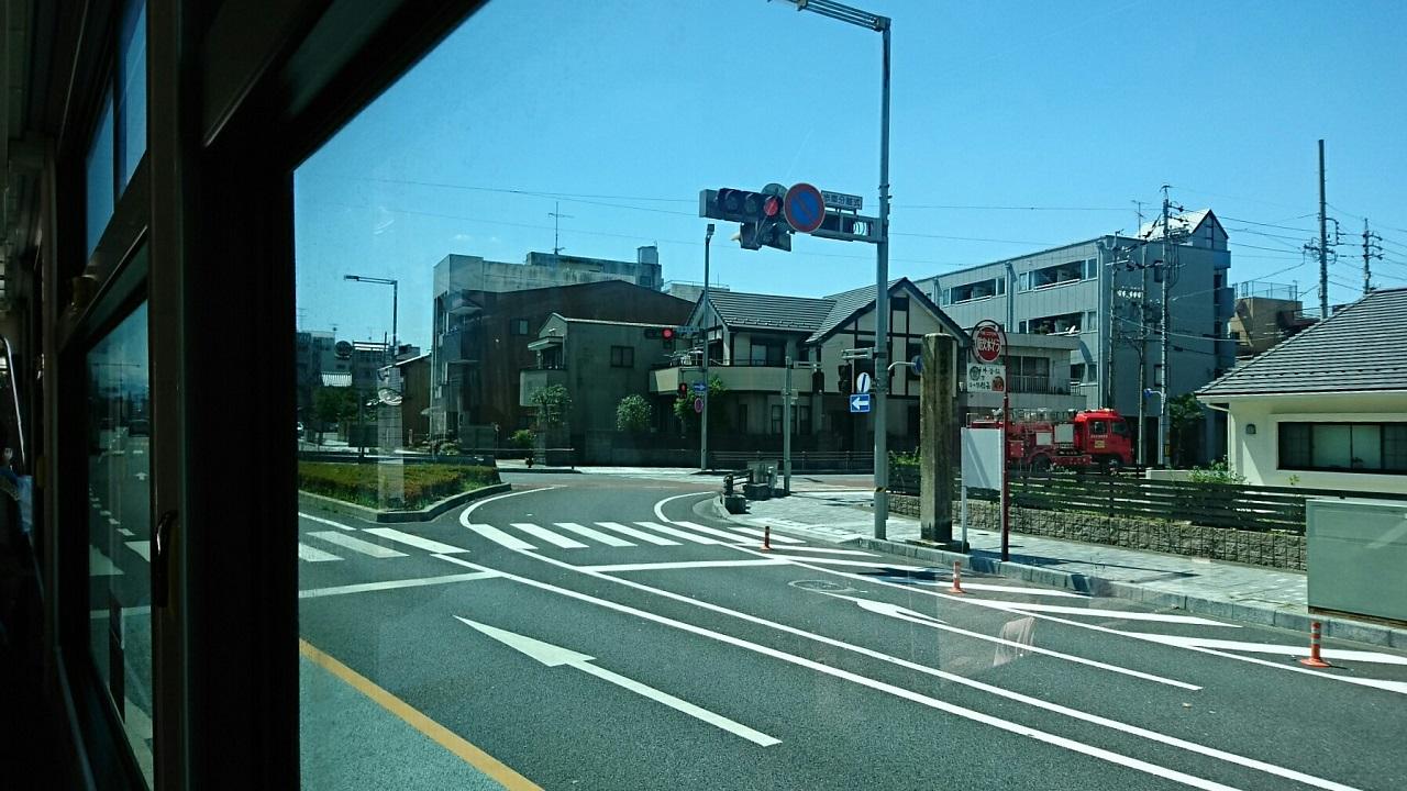2018.6.1 岐阜 (80) 西鏡島いきバス - 本町1丁目バス停 1280-720