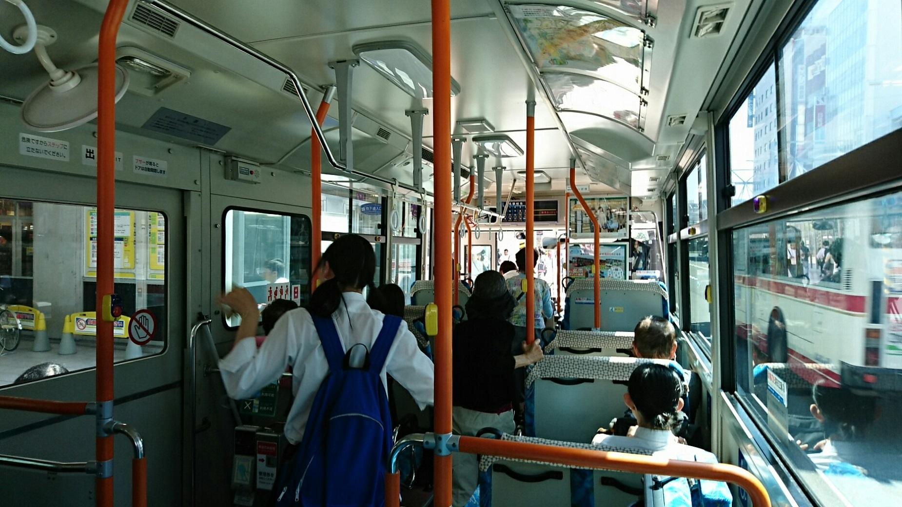2018.6.1 岐阜 (88) 西鏡島いきバス - 名鉄岐阜バス停 1850-1040