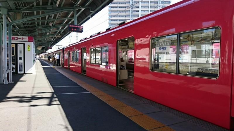 2018.6.1 岐阜 (139) 岐阜 - 豊橋いき快速特急(うしろ2両) 1600-900
