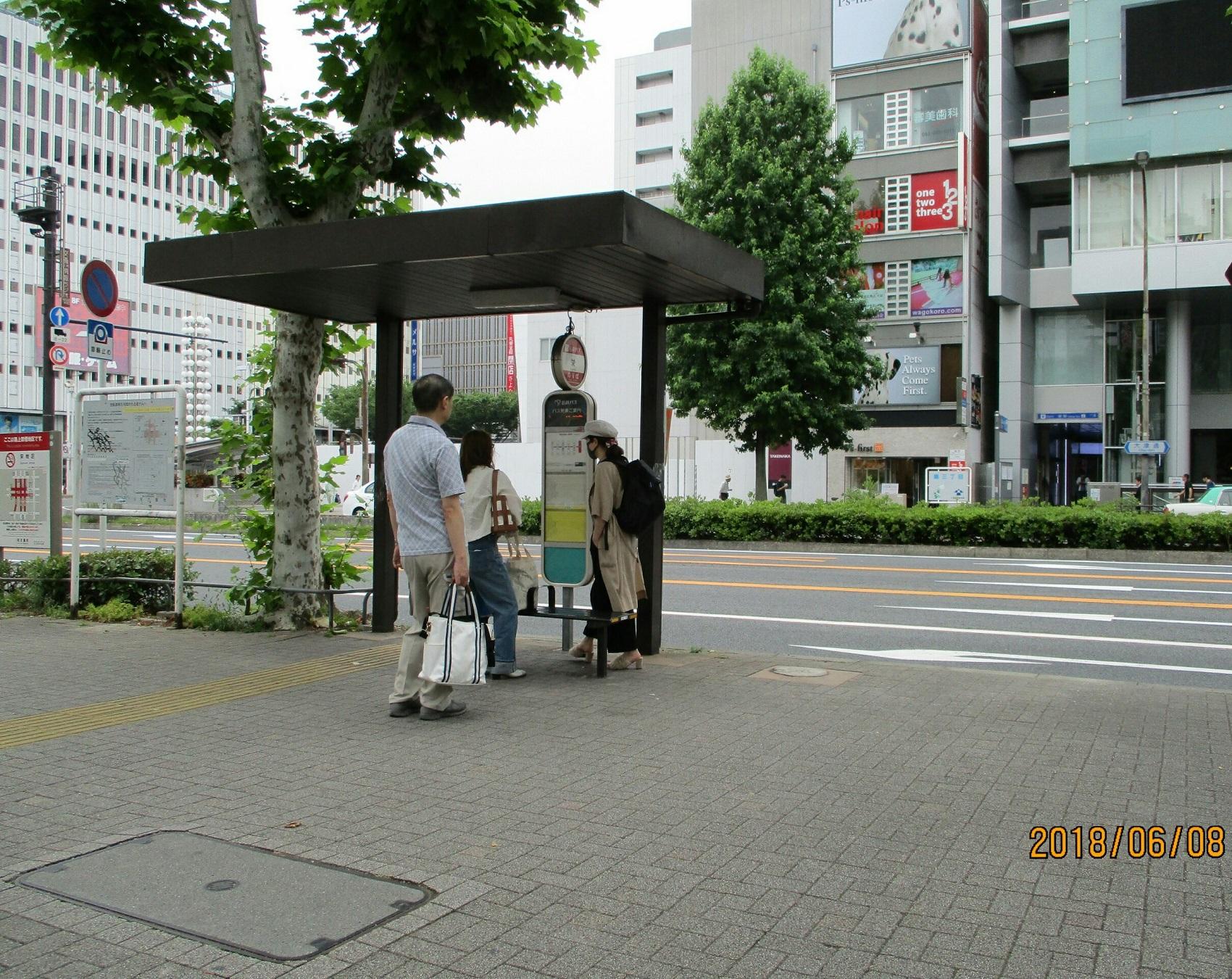 2018.6.8 (23) 栄バス停 1700-1350