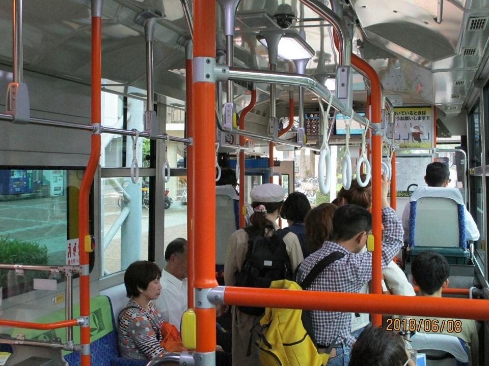 2018.6.8 (30) 名鉄バスセンターいきバス - 白川公園前バス停 960-720
