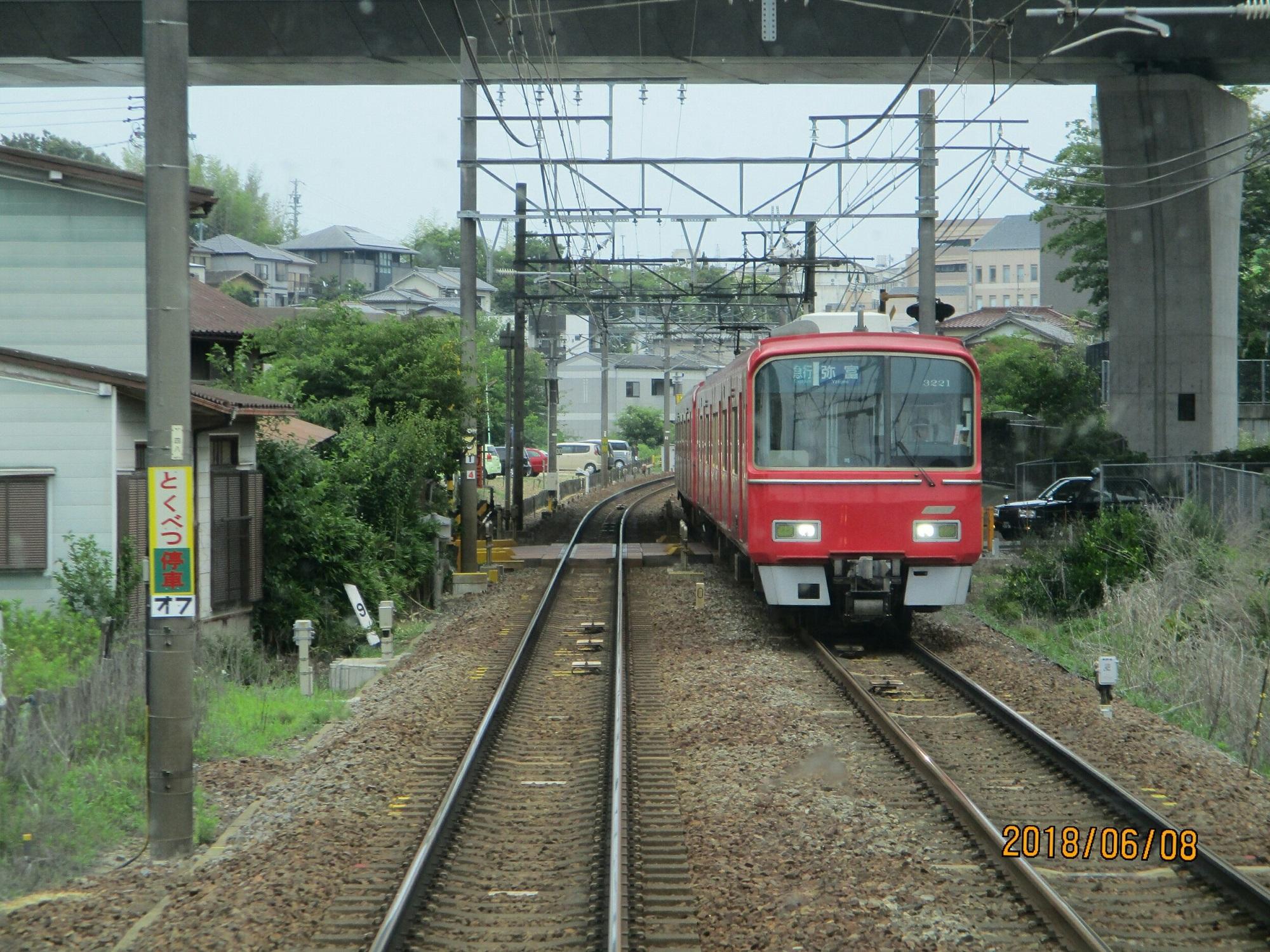 2018.6.8 (39) 豊橋いき急行 - 左京山-有松間(弥富いき急行) 2000-1500
