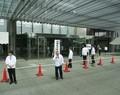 2018.6.14 豊田 (19) トヨタかぶぬし総会送迎バス - トヨタ本館ホールいり