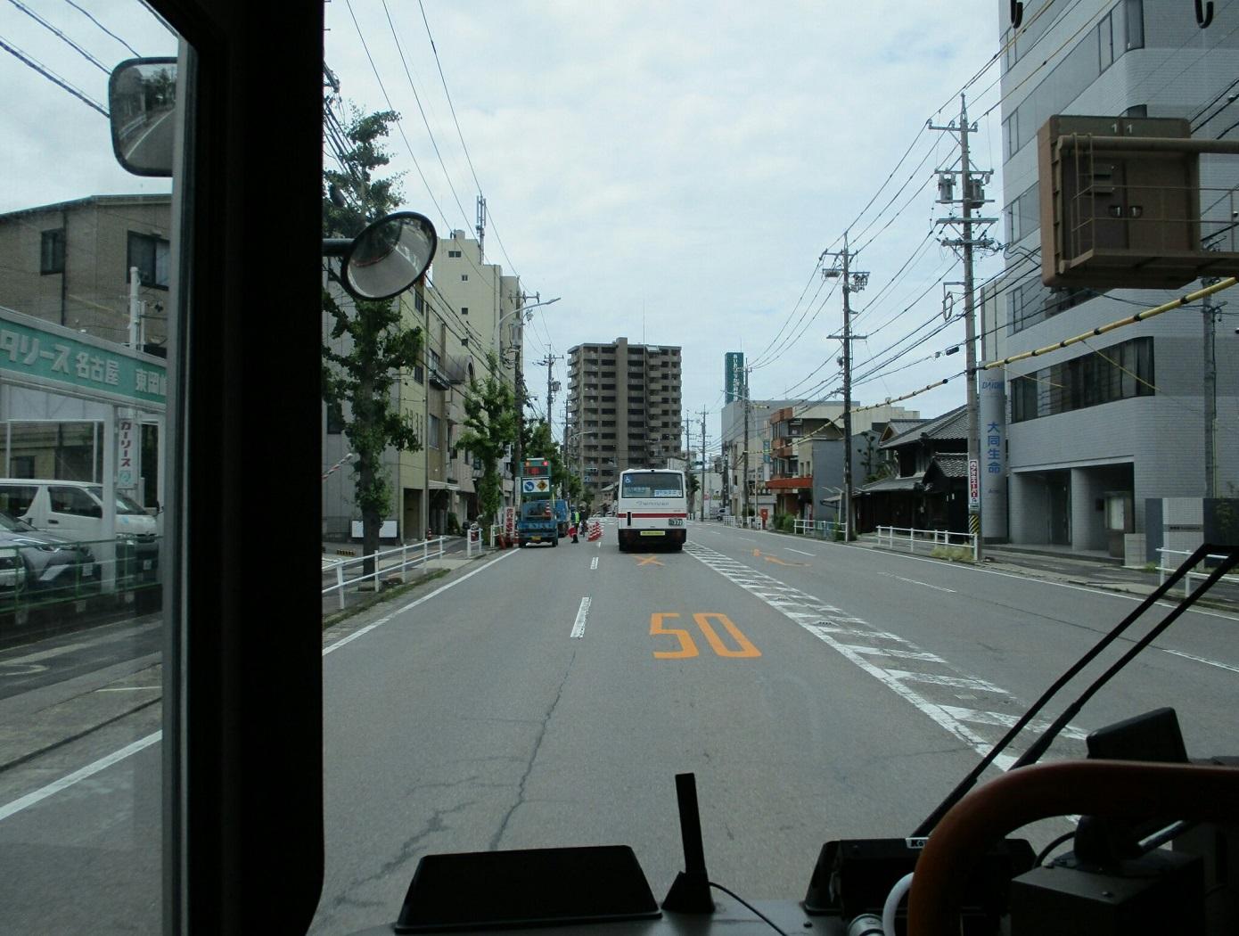 2018.6.19 (5) 美合駅いきバス - 明大寺町バス停 1390-1050