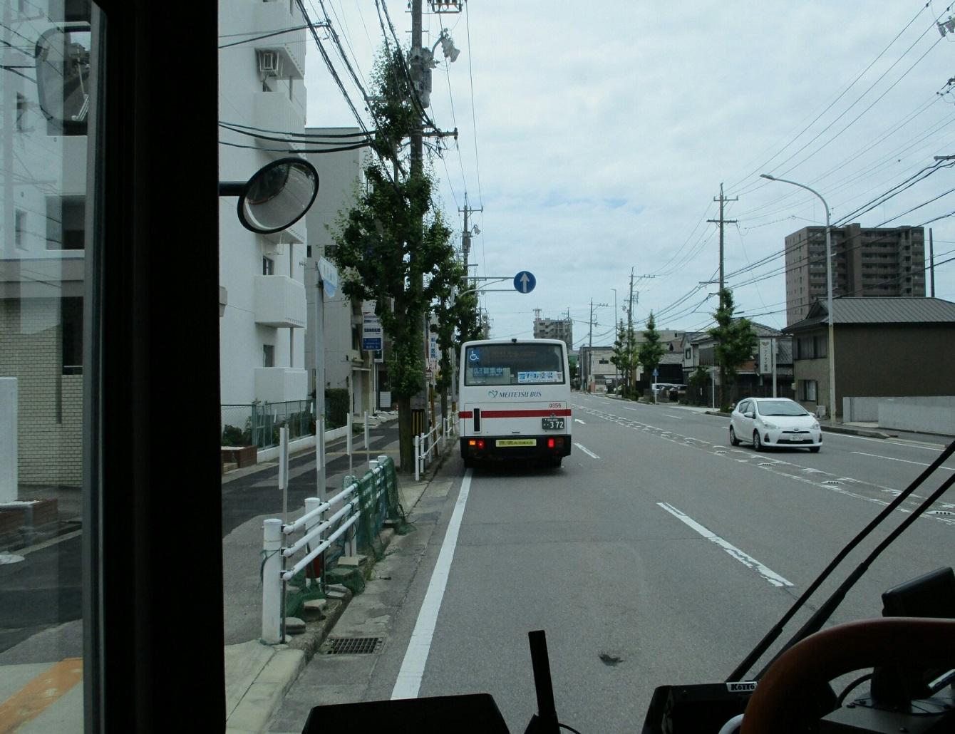 2018.6.19 (6) 美合駅いきバス - 国立研究所下バス停 1340-1030