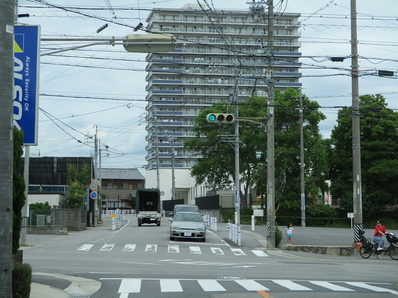 2018.6.19 (24) 美合駅いきバス - 緑丘西交差点右折 1600-1200