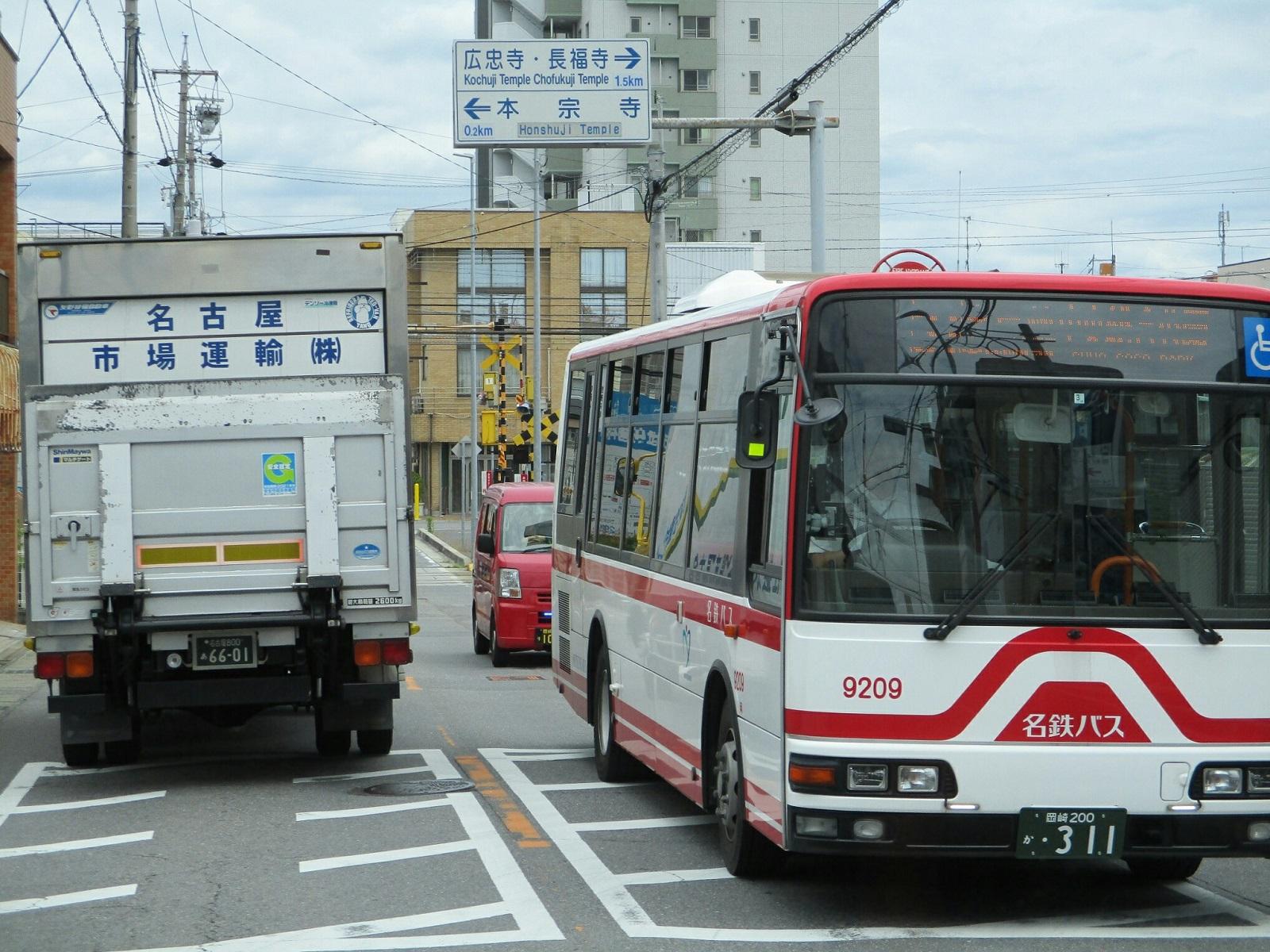 2018.6.19 (41) 美合駅いきバス - バス停間(はんたいバス) 1600-1200