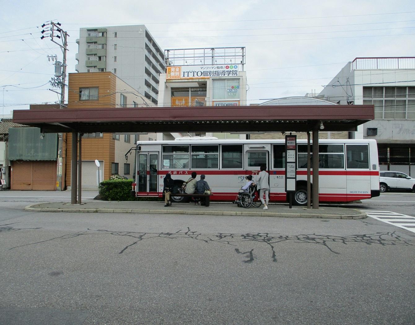 2018.6.19 (46) 美合駅 - 東岡崎駅いきバス 1340-1050