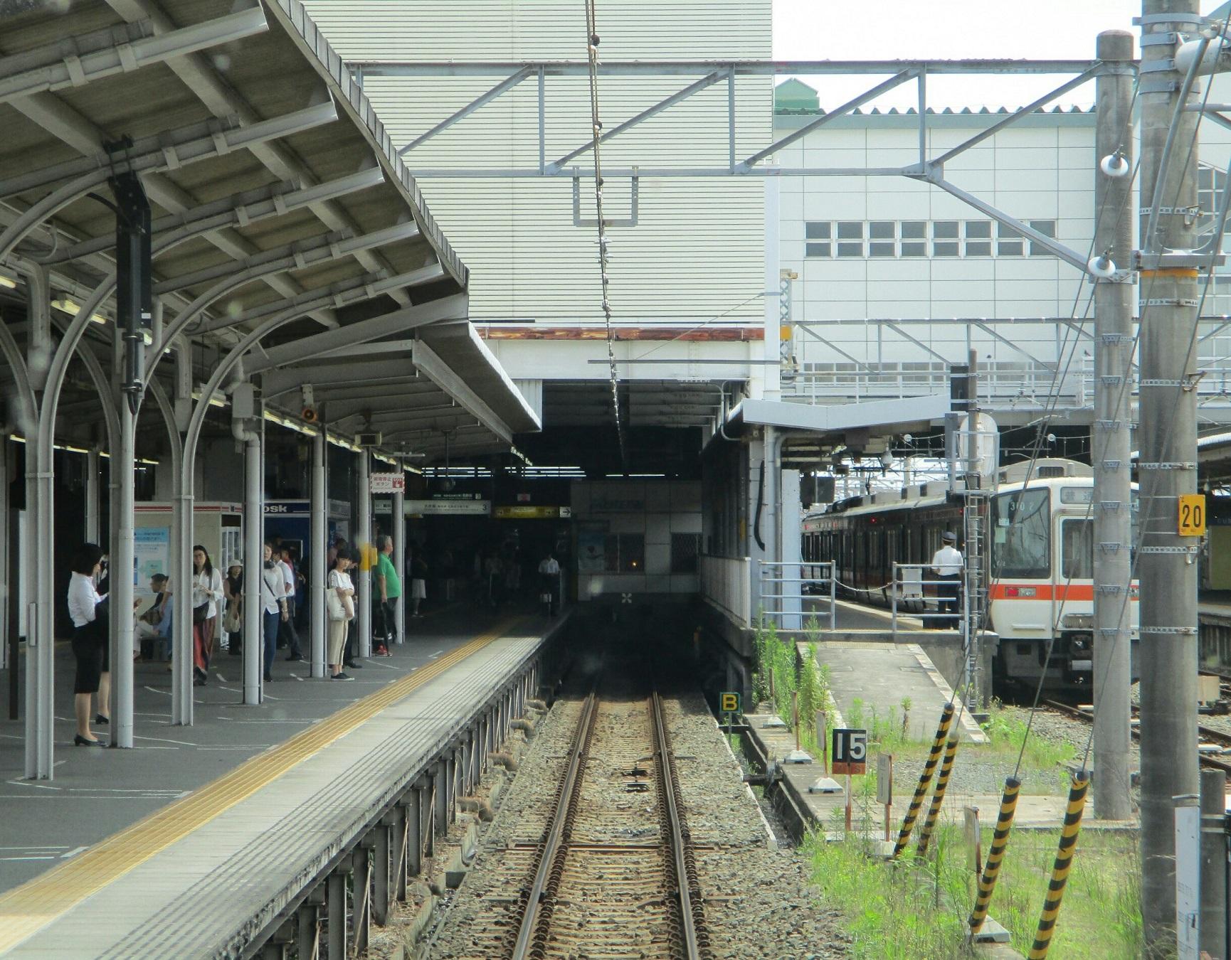 2018.6.19 (52) 豊橋いき急行 - 豊橋 1730-1350