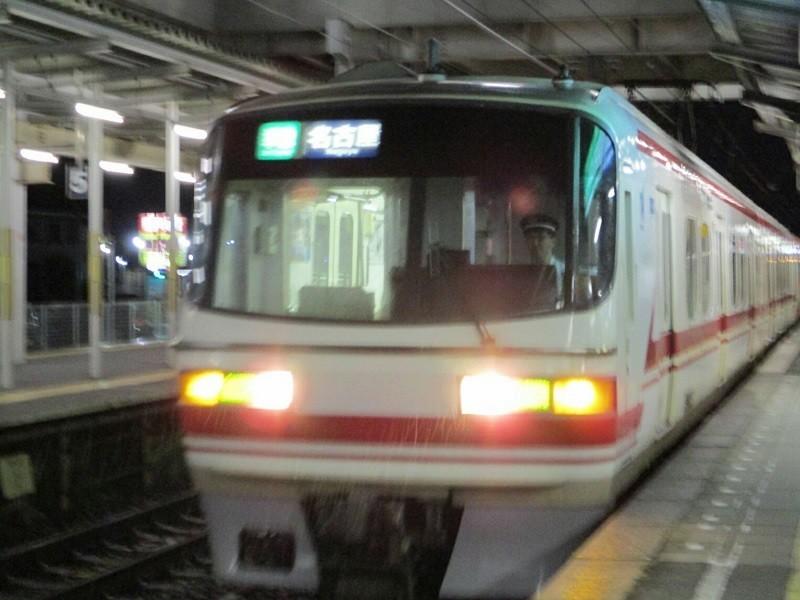 2018.6.19 終電 (7) しんあんじょう - 名古屋いき準急 800-600