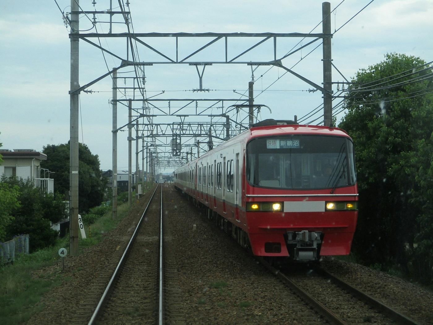 2018.6.21 (11) 東岡崎いきふつう - 矢作橋すぎ(新鵜沼いき快速特急) 1400-1050