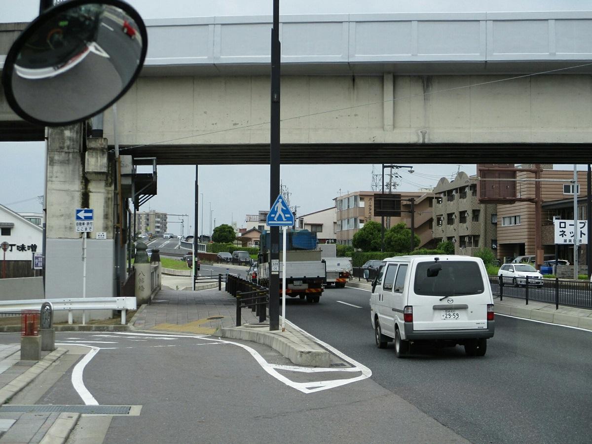 2018.6.21 (20) JRあんじょうえきいきバス - 板屋町口バス停(八帖橋) 1200-900