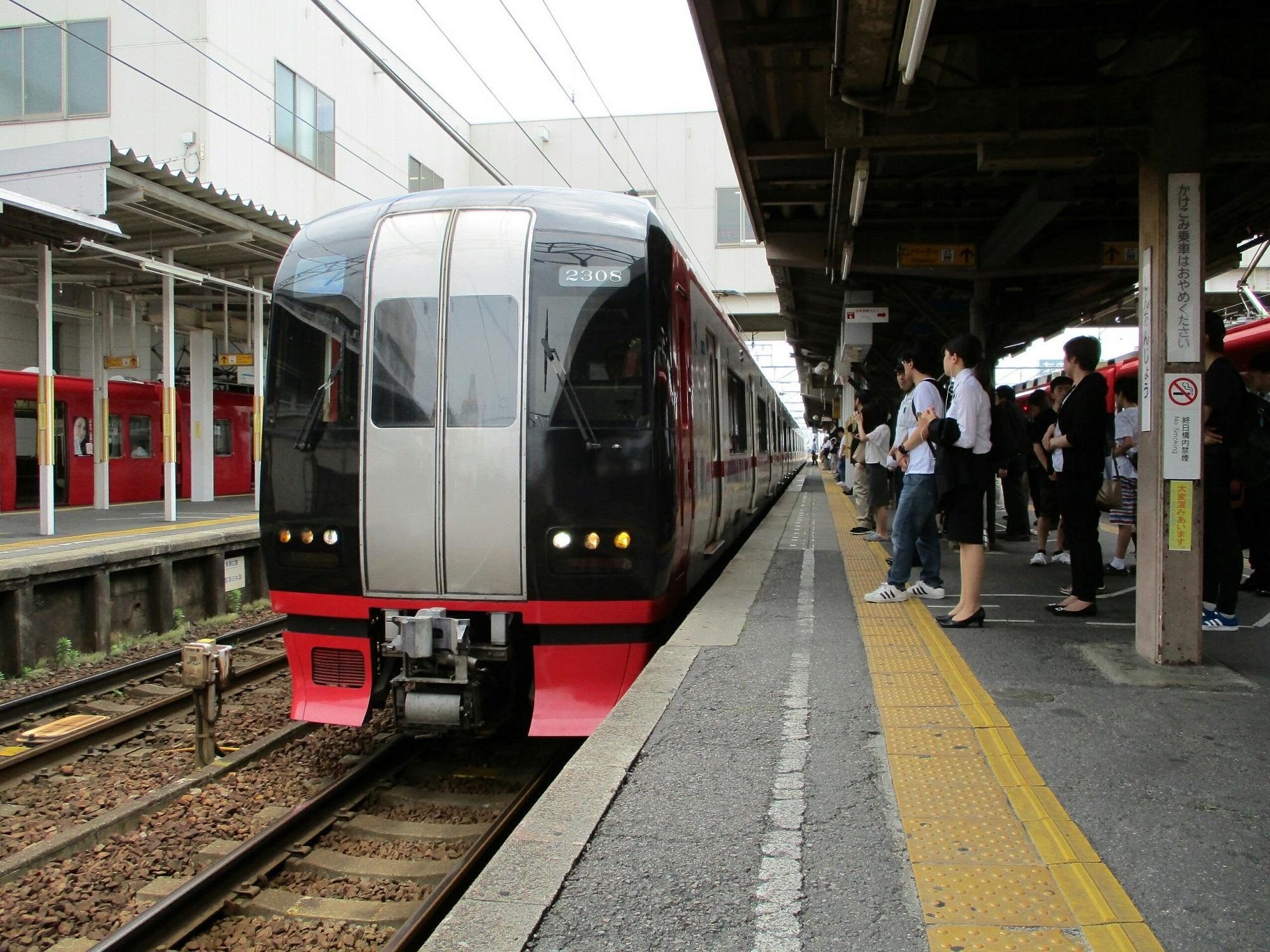 2018.6.28 (7) しんあんじょう - 岐阜いき特急 2000-1500
