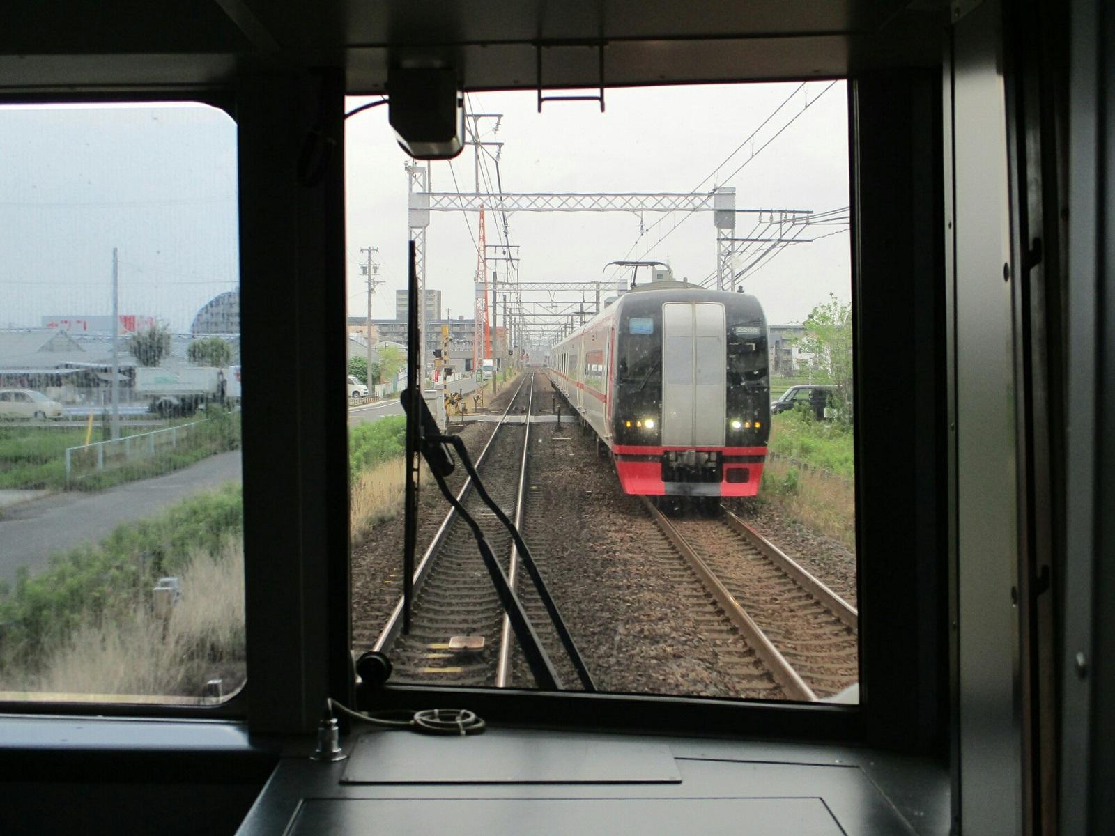 2018.6.28 (10) 岐阜いき特急 - 新木曽川てまえ(豊橋いき快速特急) 1600-1200