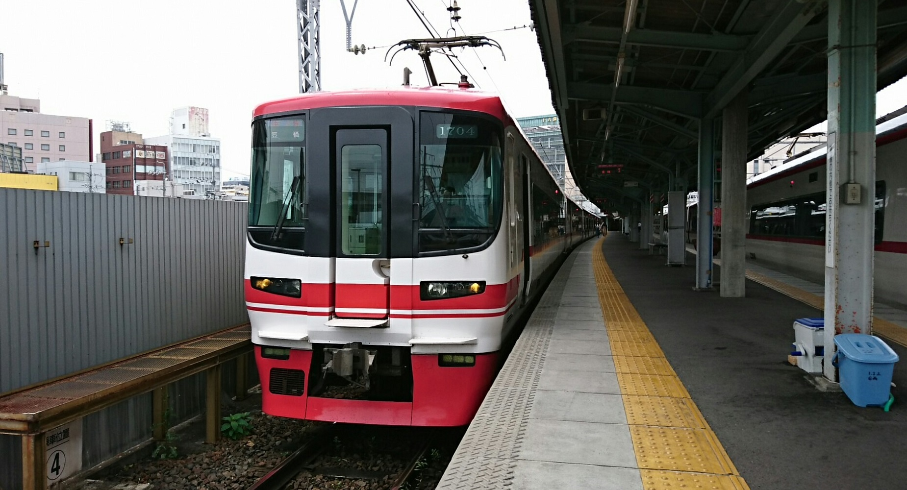 2018.6.28 (21あ) 岐阜 - 豊橋いき快速特急(まえ) 1850-1000