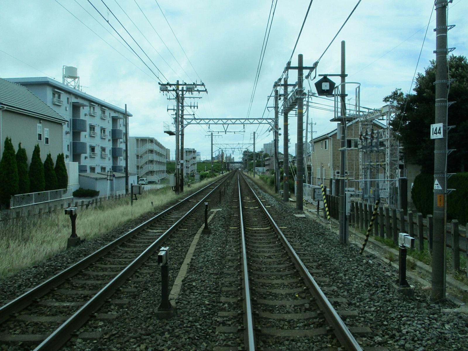 2018.6.29 (5) 東岡崎いきバス - 東海道線ふみきり 1600-1200