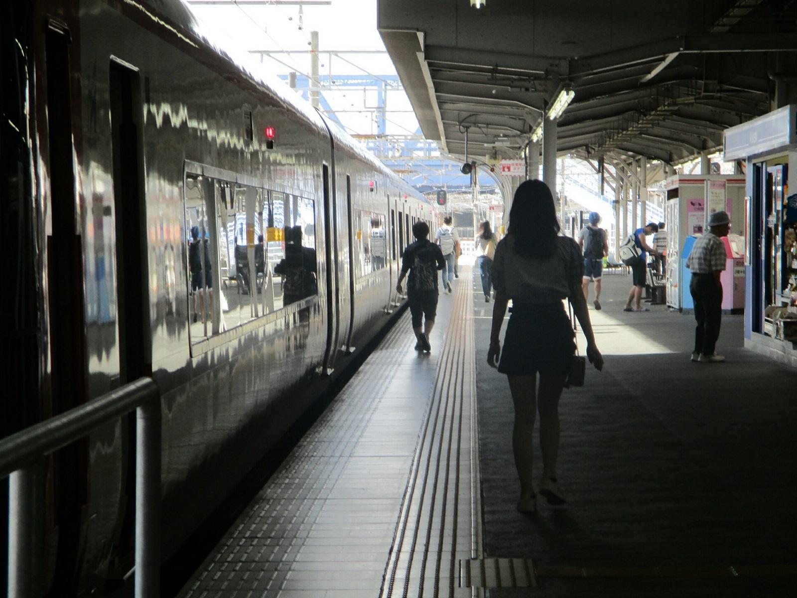 2018.7.1 豊橋 (10) 豊橋 - 岐阜いき特急 1600-1200