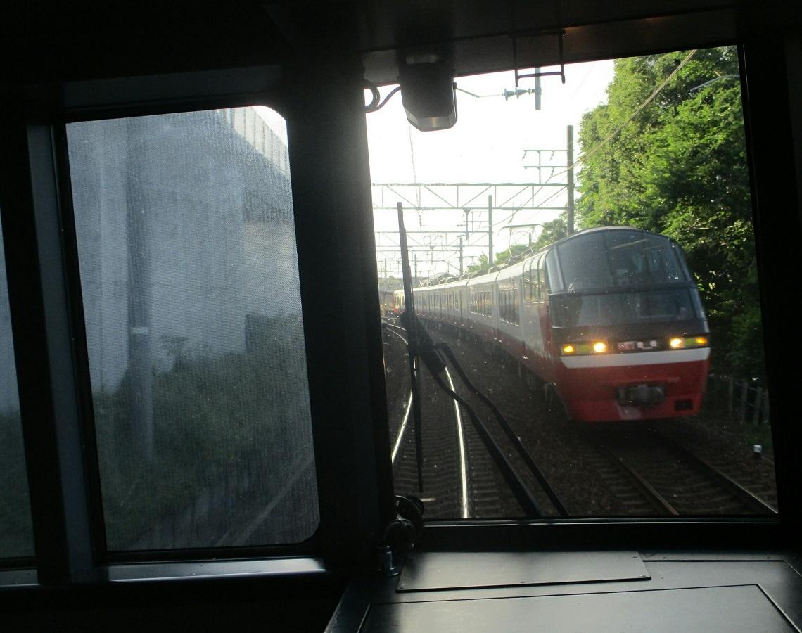 2018.7.1 豊橋 (29) 新鵜沼いき快速特急 - 男川てまえ(豊橋いき快速特急) 1140-900