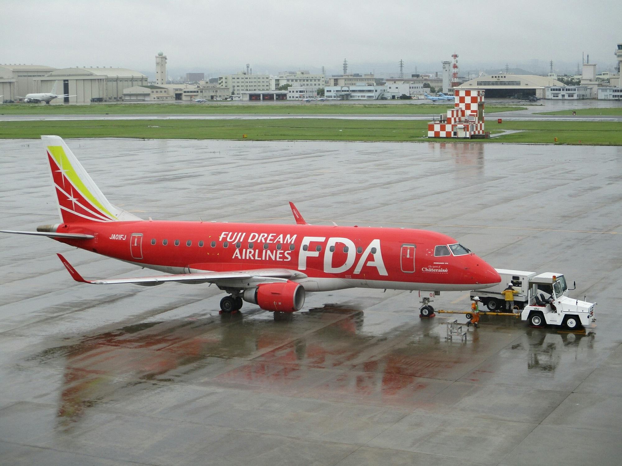 2018.7.6 (7) 名古屋空港 - FDA出雲空港いき 2000-1500