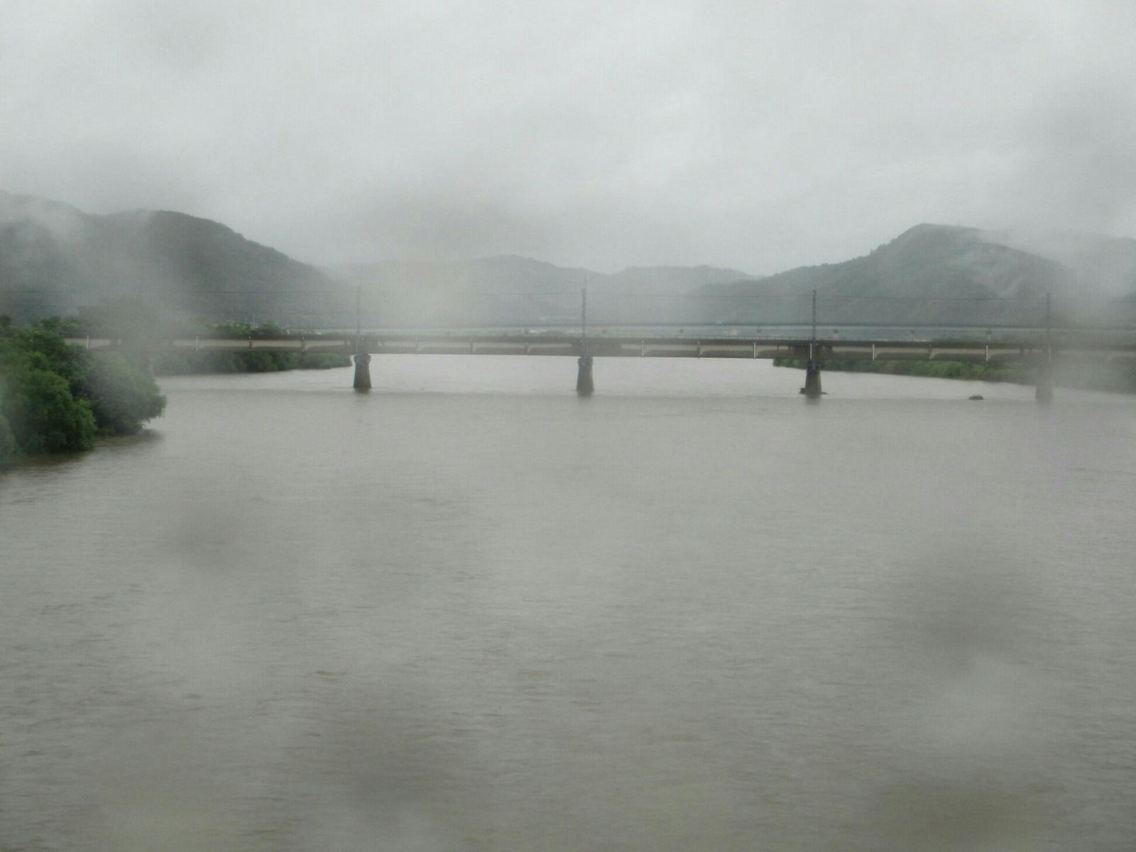 2018.7.6 (33) 出雲市駅いきバス - 斐伊川(ひいかわ)(神立橋) 1600-1200